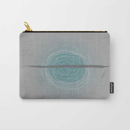Pale blue eyes Carry-All Pouch