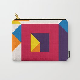 Abstract modern geometric background. Composition 12 Carry-All Pouch