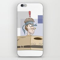 metal gear iPhone & iPod Skins featuring Metal Gear?! by Ollie R