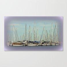 Flotilla of Yachts  Canvas Print