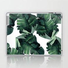 Banana Leaves Pattern Green Laptop & iPad Skin