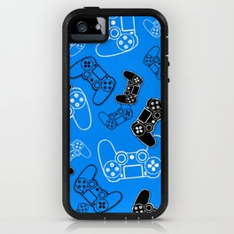 Video Games Blue iPhone Case