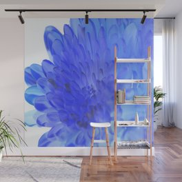 Inverted Flower Wall Mural