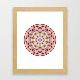 Universe Style Mandala Framed Art Print