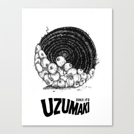 Uzumaki / Spiral Into Horror Canvas Print