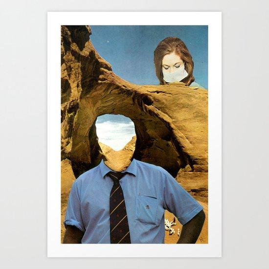 Nowhere Man Art Print