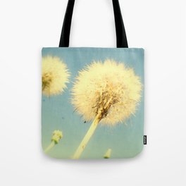 Summer Dandelions Tote Bag