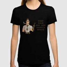 Leather Man, gay, sir, leather culture T-shirt