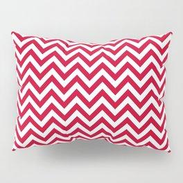 Red Chevron - more colors Pillow Sham