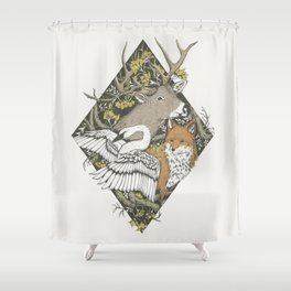Nostalgia IV Shower Curtain