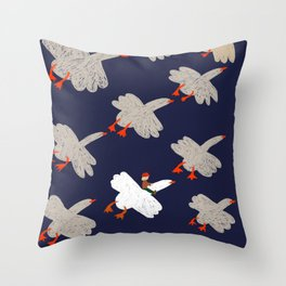 The Wonderful Adventures of Nils Throw Pillow