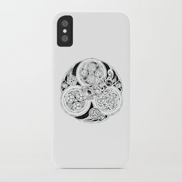 BBC Merlin: In Spite of Everything, the Stars (Dragon Triskelion tattoo) iPhone Case