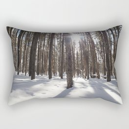 Yellowstone National Park - Lodgepole Forest 2 Rectangular Pillow
