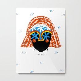 Stay bored Metal Print