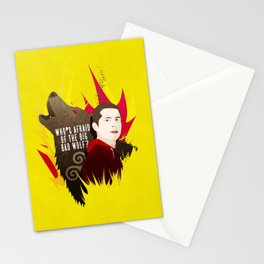 Sterek: Who's Afraid of the Big Bad Wolf? Stationery Cards