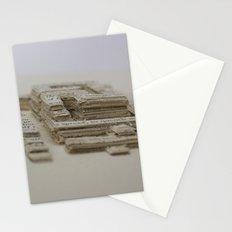 Book Art Maze Stationery Cards
