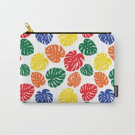 Primary Philodendron Carry-All Pouch