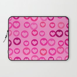 Love Hearts Laptop Sleeve