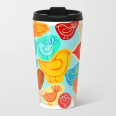 Dawn Chorus Metal Travel Mug