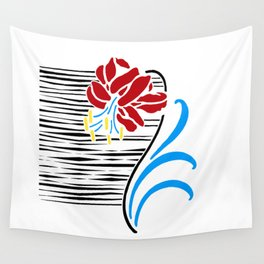 Immortal Flower Wall Tapestry