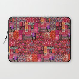N98 - Traditional Heritage Boho Oriental Moroccan Collage Style. Laptop Sleeve