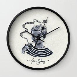 Jean Seberg Wall Clock