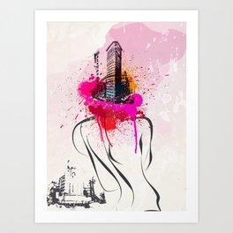 City light Art Print