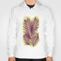 palms Hoodies featuring Palms by  Agostino Lo Coco