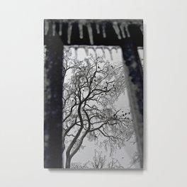Raven's All Around jjhelene design Metal Print