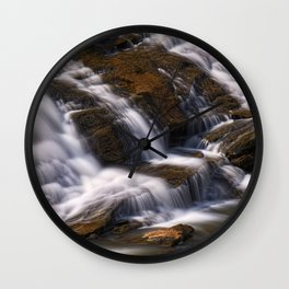 Shacktown Falls Wall Clock