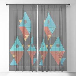 Birds of Paradise Sheer Curtain