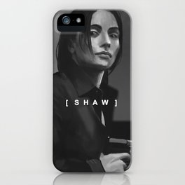 SHAW iPhone Case