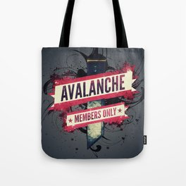 Final Fantasy VII - Avalanche Member's Only Tote Bag