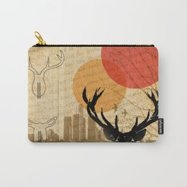 deer in the city Carry-All Pouch