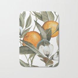 Orange Blossom Bath Mat