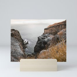 Coastal landscape Mini Art Print