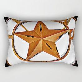 Texas - Graphic 2 Rectangular Pillow