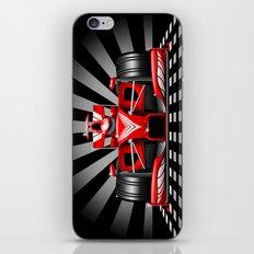 Formula 1 Red Race Car iPhone & iPod Skin