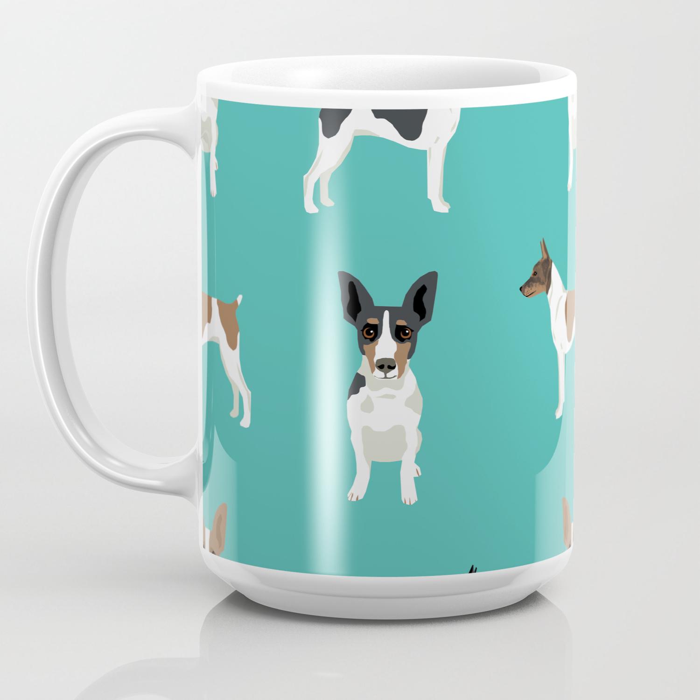 Rat Terrier dog breed pet art dog ...