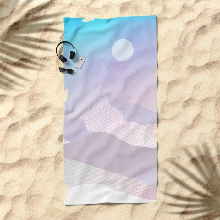 Dune Moon Beach Towel