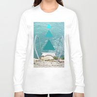 swim Long Sleeve T-shirts featuring Swim by TiannaFowler