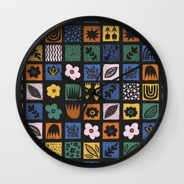 Shapes & Plants VI Wall Clock
