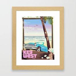 Key West Florida Framed Art Print