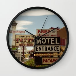 Strip on the Strip - Las Vegas Wall Clock