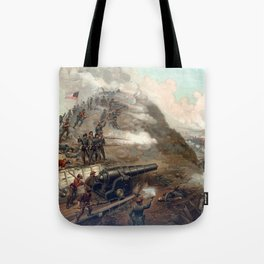 The Capture Of Fort Fisher Tote Bag