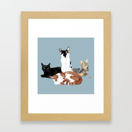 Asher-Winston-Julius-and-Lila Framed Art Print