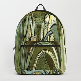 Rounded Rectangles Backpack