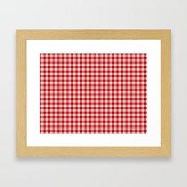 Menzies Tartan Framed Art Print