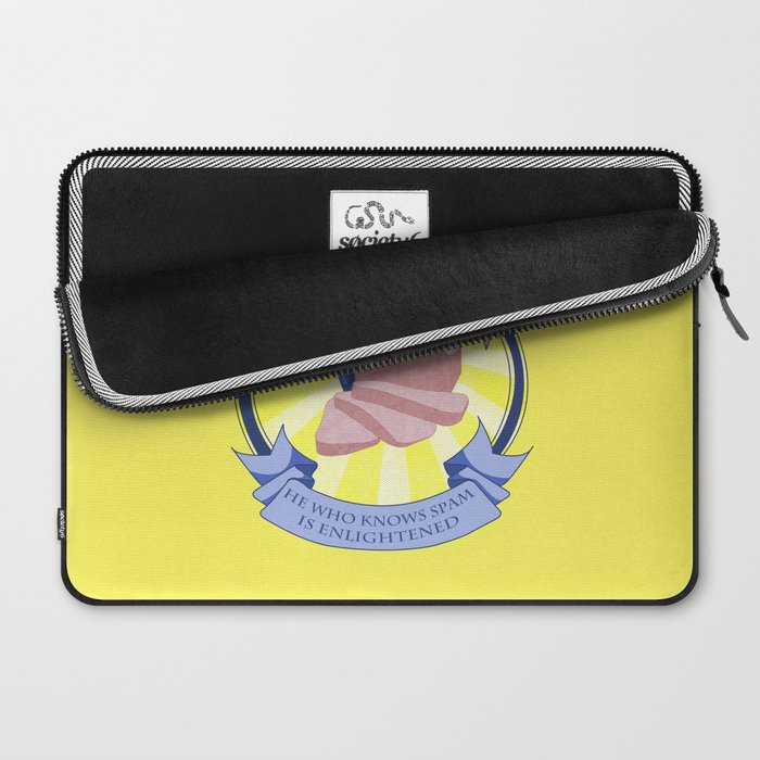 The Spam of Enlightenment Laptop Sleeve