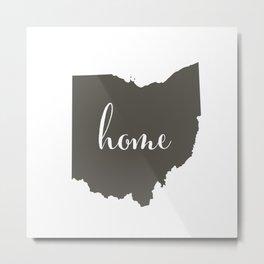 Ohio is Home Metal Print